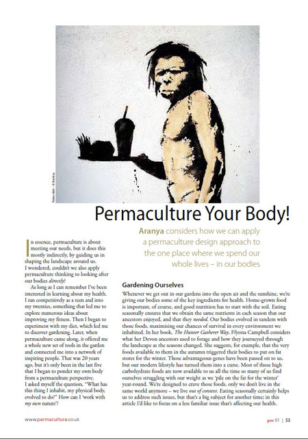 Permaculture Your Body
