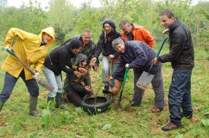 Tree planting is fun too!
