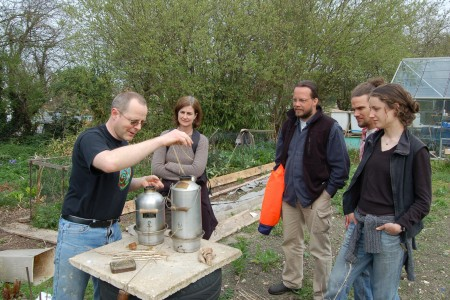 Brewing up a storm ~ a very efficient way to boil water