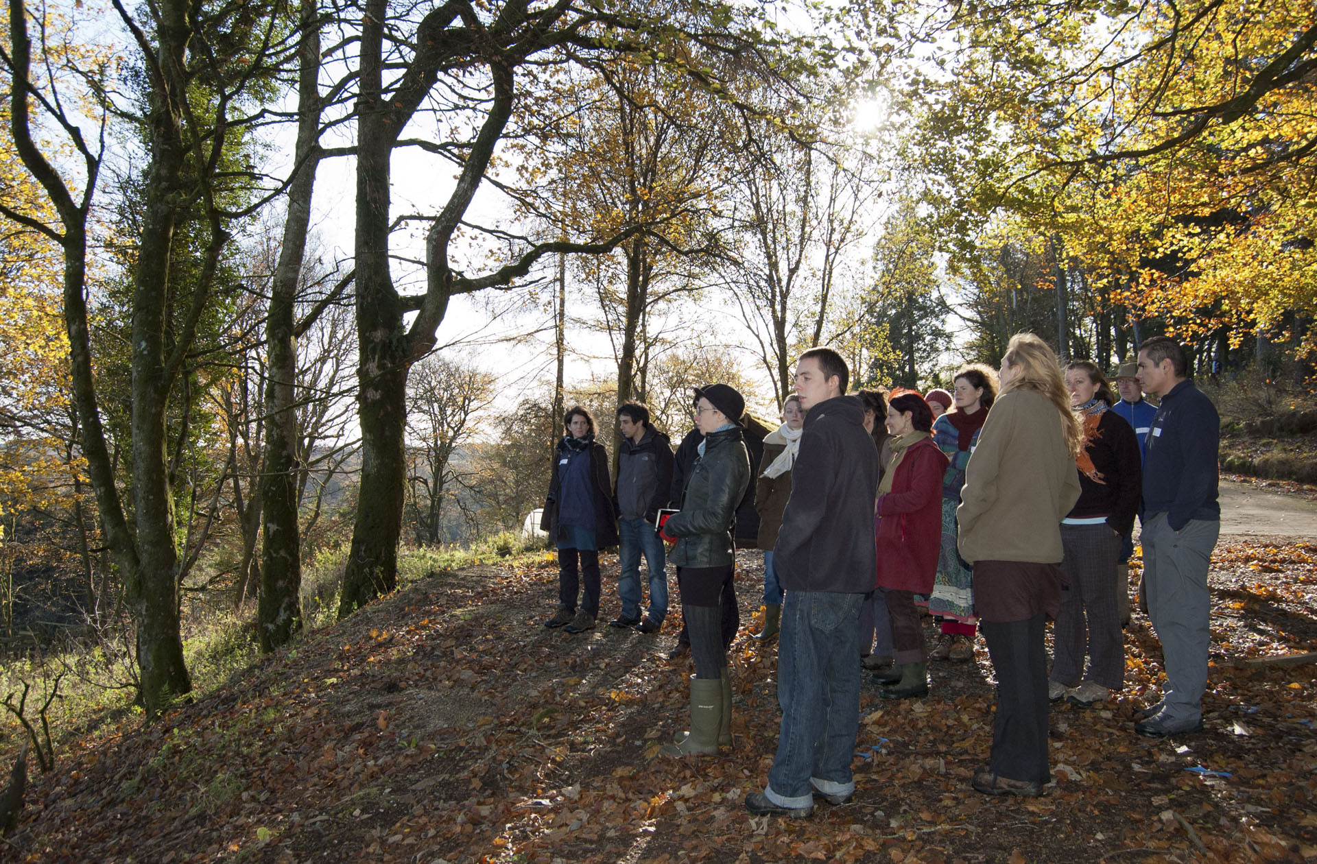 Autumn site tour